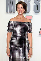 """Andrea McLean<br /> arriving for the """"Mission: Impossible Fallout"""" premiere at the BFI IMAX South Bank, London<br /> <br /> ©Ash Knotek  D3414  13/07/2018"""