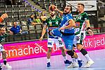 Zarko Pesevski (TVB Stuttgart #44) ; BGV Handball Cup 2020 Finaltag: TVB Stuttgart vs. FRISCH AUF Goeppingen am 13.09.2020 in Stuttgart (PORSCHE Arena), Baden-Wuerttemberg, Deutschland<br /> <br /> Foto © PIX-Sportfotos *** Foto ist honorarpflichtig! *** Auf Anfrage in hoeherer Qualitaet/Aufloesung. Belegexemplar erbeten. Veroeffentlichung ausschliesslich fuer journalistisch-publizistische Zwecke. For editorial use only.