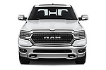 Car photography straight front view of a 2019 Ram Ram 1500 Pickup Limited Crew Cab 4 Door Pick Up