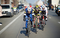 Tom Boonen (BEL/Etixx-QuickStep) at the front<br /> <br /> Kuurne-Brussel-Kuurne 2016