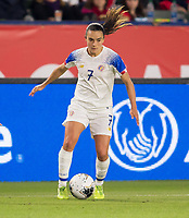 CARSON, CA - FEBRUARY 07: Melissa Herrera #7 of Costa Rica moves with the ball during a game between Canada and Costa Rica at Dignity Health Sports Complex on February 07, 2020 in Carson, California.