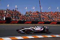 4th September 2021: Circuit Zandvoort, Zandvoort, Netherlands;   9 Nikita Mazepin RUS, Haas F1 Team, F1 Grand Prix of the Netherlands at Circuit Zandvoort