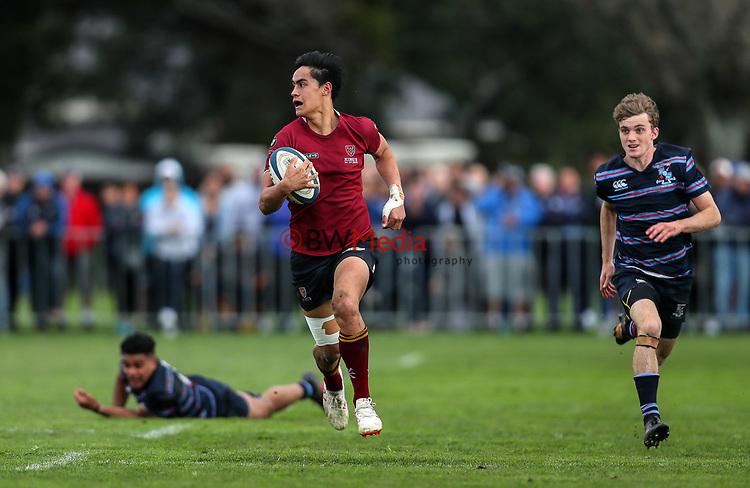 1A Auckland 1st XV rugby semi-final, Kings College 1st XV v Sacred Heart College,  Kings College, Auckland, Saturday16 June 2018. Photo: Simon Watts/www.bwmedia.co.nz