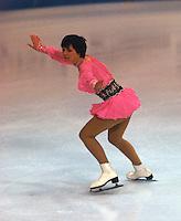 Dagmar Lurz German figure skater competes at the 1978 World Figure Skating Championships in Ottawa, Canada. Photo copyright Scott Grant