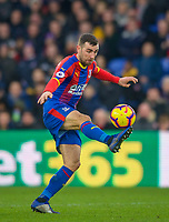 Luka Milivojevic of Crystal Palace during the Premier League match between Crystal Palace and Chelsea at Selhurst Park, London, England on 30 December 2018. Photo by Andrew Aleks.