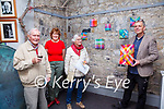 """Lines & Layers Exhibition : Pictured at the launch of Paul Bokslag's exhibition of  """"Lines & Layers """" at St John's Arts Centre, Listowel on Saturday nigh last were Peter McGrath, Maura Logue, Manager St. John's Arts Centre, Mary McGrath & Paul Bokslag."""
