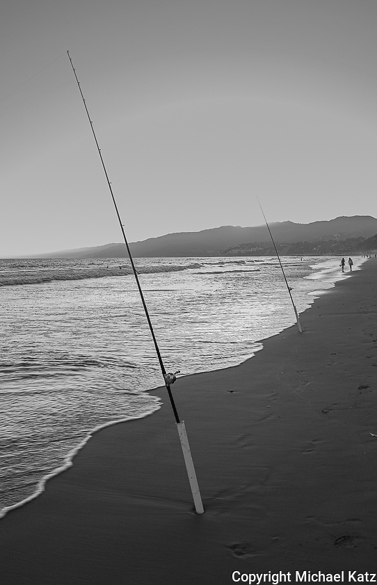 Fishing Rods, Santa Monica