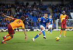 St Johnstone v Galatasaray…12.08.21  McDiarmid Park Europa League Qualifier<br />Callum Hendry<br />Picture by Graeme Hart.<br />Copyright Perthshire Picture Agency<br />Tel: 01738 623350  Mobile: 07990 594431