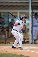 Detroit Tigers Riley Greene (13) at bat during an Instructional League instrasquad game on September 20, 2019 at Tigertown in Lakeland, Florida.  (Mike Janes/Four Seam Images)