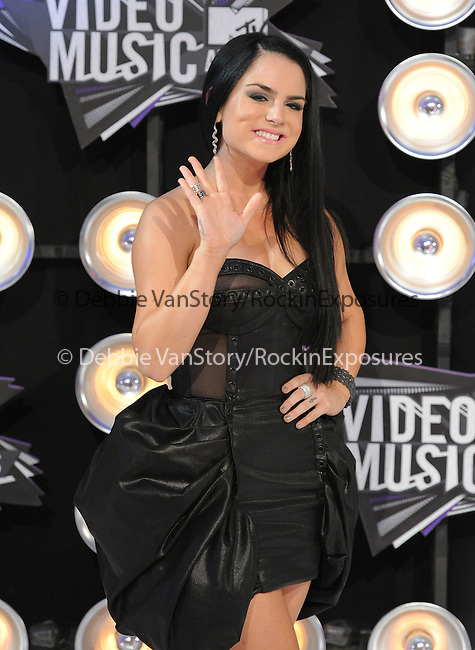 Jojo at The 2011 MTV Video Music Awards held at Nokia Theatre L.A. Live in Los Angeles, California on August 28,2011                                                                   Copyright 2011  DVS / Hollywood Press Agency