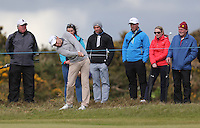Thursday 28 May 2015; <br /> <br /> Dubai Duty Free Irish Open Golf Championship 2015, Round 1 County Down Golf Club, Co. Down. Picture credit: John Dickson / SPORTSFILE