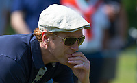 Damian Lewis (Actor) during the BMW PGA PRO-AM GOLF at Wentworth Drive, Virginia Water, England on 23 May 2018. Photo by Andy Rowland.