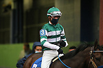 February 6, 2021: Jockey Florent Geroux aboard during the King Cotton Stakes at Oaklawn Racing Casino Resort in Hot Springs, Arkansas on February 6, 2021. Justin Manning/Eclipse Sportswire/CSM