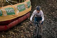 race winner Tom Pidcock (GBR/Trinity)<br /> <br /> 2020 Superprestige Gavere (BEL)<br /> <br /> ©kramon