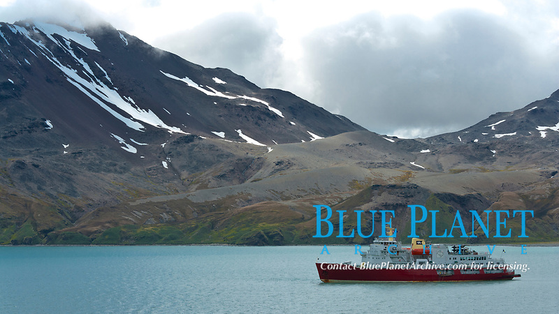 Fortuna Bay, with icebreaker M/V Polar Star at anchor.