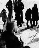 Undated file photo File photo. <br /> <br /> CEQ Union leader Yvon Charbonneau<br />  in the 1970's<br /> <br /> <br /> <br /> Photo : AQP - Alain Renaud