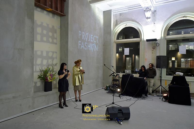 Project Fashion Gala at The Public Trust Building, Wellington, New Zealand on Friday 28 July 2017.<br /> Photo by Masanori Udagawa. <br /> www.photowellington.photoshelter.com