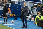 Quique Setien coach of UD Las Palmas during the match of La Liga between Deportivo Leganes and Union Deportiva Las Palmas  Butarque Stadium  in Madrid, Spain. April 25, 2017. (ALTERPHOTOS/Rodrigo Jimenez)