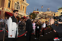 """LOS ANGELES - MAY 7:  Johnny Depp arriving at the """"Pirates of The Caribbean: On Stranger Tides"""" World Premiere at Disneyland on May 7, 2011 in Anaheim, CA"""