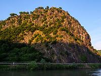 Felsen der Lorelei am Rein, Rheinland-Pfalz, Deutschland, Europa<br /> Loreley at river Rhine, Rhineland-Palatinate, Germany, Europe