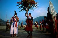 Dancers at the Punakha Festival.