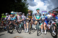 Race Start Line-Up with former winner Pascal Ackermann (GER/Bora Hansgrohe) and Belgian Champion Tim Merlier (BEL/Corendon Circus) <br /> <br /> 99th Brussels Cycling Classic 2019<br /> One Day Race: Brussels > Brussels 189.4km<br /> <br /> ©kramon