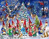 Randy, CHRISTMAS SANTA, SNOWMAN, WEIHNACHTSMÄNNER, SCHNEEMÄNNER, PAPÁ NOEL, MUÑECOS DE NIEVE, paintings+++++,USRW386,#x#