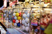 Jaw breakers in a candy store.