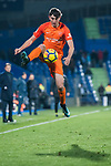 Jose Luis Zalazar, Kuku Zalazar, of Malaga CF in action during the La Liga 2017-18 match between Getafe CF and Malaga CF at Coliseum Alfonso Perez on 12 January 2018 in Getafe, Spain. Photo by Diego Gonzalez / Power Sport Images