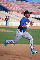 Alexeis Azuaje participates in the MLB International Showcase at Estadio Quisqeya on February 22-23, 2017 in Santo Domingo, Dominican Republic.