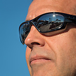 The Soyuz TMA-09M spacecraft is seen reflected in the glasses of Expedition 36 backup Flight Engineer Rick Mastracchio of NASA at the Baikonur Cosmodrome launch pad, Sunday, May 26, 2013, in Kazakhstan.  The launch of the Soyuz rocket to the International Space Station (ISS) with Expedition 36/37 Soyuz Commander Fyodor Yurchikhin of the Russian Federal Space Agency (Roscosmos), Flight Engineers; Luca Parmitano of the European Space Agency, and Karen Nyberg of NASA, is scheduled for Wednesday May 29, Kazakh time. Yurchikhin, Nyberg, and, Parmitano, will remain aboard the station until mid-November. Photo credit: (NASA/Bill Ingalls)