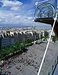 Frankreich, Paris: Blick vom Centre George Pompidou ueber die Daecher von Paris | France, Paris: view from Centre George Pompidou across Paris