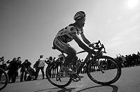 111th Paris-Roubaix 2013..Juan Antonio Flecha (ESP) at Carrefour de L'arbre.
