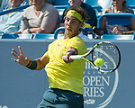 Rafael Nadal (ESP) Defeats Tomas Berdych (CZE) In The Semis, 7-5, 7-6