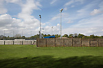 Vauxhall Motors FC 0 Solihull Moors 2, 26/04/2014. Rivacre Park, Conference North. An exterior view of the ground before Vauxhall Motors play Solihull Moors at Rivacre Park in the final Conference North fixture of the season. It was to be the last match for the Ellesmere Port-based home club, named after the giant car factory in the town, who have resigned from the professional pyramid system to return to local amateur football due to spiralling costs and low attendances. Their final match resulted in a 2-0 home defeat, watched by a crowd of only 215. Photo by Colin McPherson.