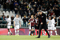 Calcio, Serie A: Juventus vs Milan. Torino, Juventus Stadium, 21 novembre 2015. <br /> AC Milan's coach Sinisa Mihajlovic leaves the pitch at the end of the Italian Serie A football match between Juventus and AC Milan at Turin's Juventus stadium, 21 November 2015. Juventus won 1-0.<br /> UPDATE IMAGES PRESS/Isabella Bonotto