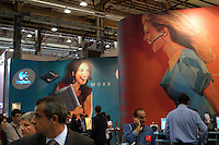 - SMAU, international exibition of electronics, computer science and technological innovation, Logitech stand..- SMAU, salone internazionale dell'elettronica, informatica e innovazione tecnologica, stand Logitech