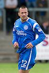 St Johnstone FC.... Season 2010-11.Steven Milne.Picture by Graeme Hart..Copyright Perthshire Picture Agency.Tel: 01738 623350  Mobile: 07990 594431