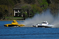 "`Brandon Kennedy, E-30 ""Budget Buster"" and Bobby Kennedy, E-35 ""TM Special"" (5 Litre class hydroplane(s)"