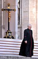 Mons. Leonardo Sapienza ,Reggente della Prefettura della Casa PontificiaPope Francis special Jubilee Audience at Saint Peter's Square at the Vatican on April 9, 2016.