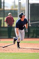 Nick Weglarz, Cleveland Indians 2010 minor league spring training..Photo by:  Bill Mitchell/Four Seam Images.