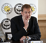 Partick Thistle MD Ian Maxwell