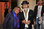 """LEOPOLDO MASTELLONI E ROBERTO D'AGOSTINO<br /> """"PARTY ANTICRISI CON ESORCISMI"""" DI PAOLO PAZZAGLIA<br /> PALAZZO FERRAJOLI  ROMA 2011"""