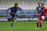 Terell Thomas of AFC Wimbledon during AFC Wimbledon vs Accrington Stanley, Sky Bet EFL League 1 Football at The Kiyan Prince Foundation Stadium on 3rd October 2020