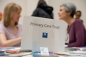Primary Care Trust stall at a Healthy Futures event at the Beethoven Centre, Queens Park