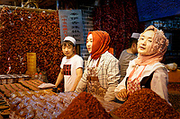 Muslim Quarter Food Market in Xi'an, China