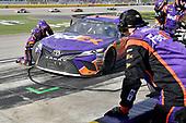 Monster Energy NASCAR Cup Series<br /> Pennzoil 400<br /> Las Vegas Motor Speedway, Las Vegas, NV USA<br /> Sunday 4 March 2018<br /> Denny Hamlin, Joe Gibbs Racing, Toyota Camry FedEx Office<br /> World Copyright: Rusty Jarrett<br /> NKP / LAT Images
