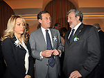 GIANFRANCO FINI ED ELISABETTA TULLIANI CON MICHELE EMILIANO