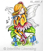 CUTE ANIMALS, LUSTIGE TIERE, ANIMALITOS DIVERTIDOS, paintings+++++,KL4567/6,#ac#, EVERYDAY Interlitho,everyday,fairy,fairies,elfs,sticker,stickers