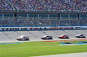 Monster Energy NASCAR Cup Series<br /> GEICO 500<br /> Talladega Superspeedway, Talladega, AL USA<br /> Sunday 7 May 2017<br /> Kyle Busch, Joe Gibbs Racing, Skittles Red, White, & Blue Toyota Camry, Denny Hamlin, Joe Gibbs Racing, FedEx Express Toyota Camry, Martin Truex Jr, Furniture Row Racing, Bass Pro Shops/TRACKER BOATS Toyota Camry<br /> World Copyright: John K Harrelson<br /> LAT Images<br /> ref: Digital Image 17TAL1jh_05089